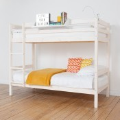 HiT Whitewash Bunkbed Frame