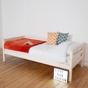 HiT single bed - Whitewash