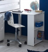 Nordic white Pull Out Desk