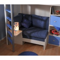 Stompa Underbed Sofa - Blue Denim