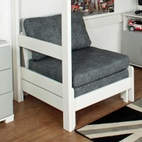 Urban underbed chair - Grey